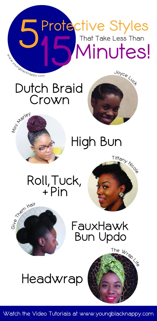 natural hair protective styles